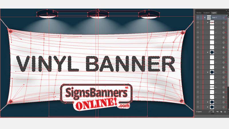 Blank vinyl banner SETUP PROCEEDURE
