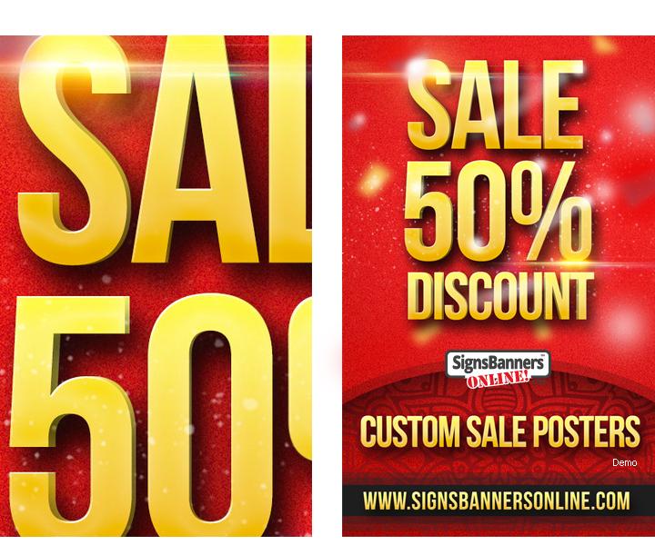 Reflective Photoshop Poster Sale