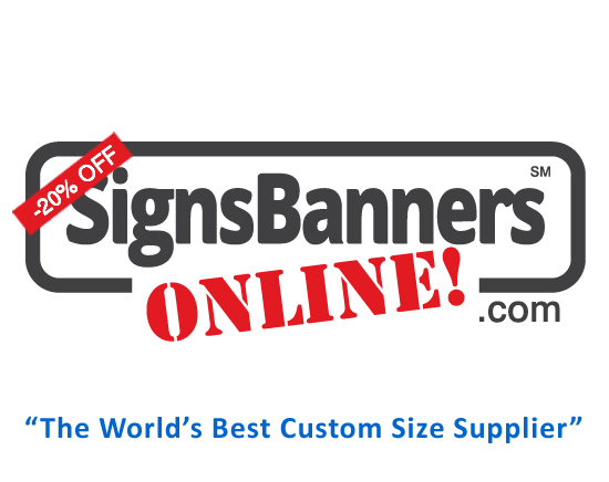 Signs Banners Online Discount Logo
