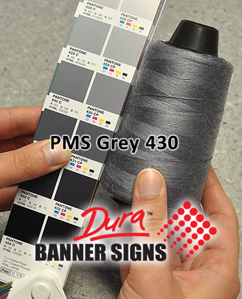 PMS Gray 430 Sewing Color