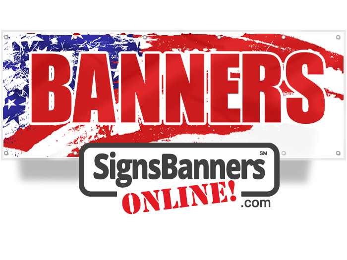 Signs Banners USA background