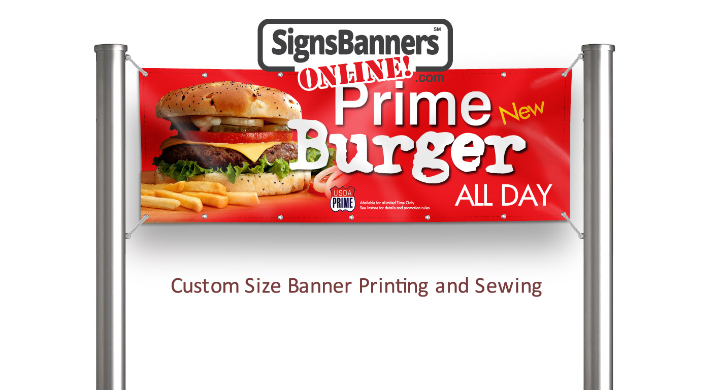 Your cheapest source for quality custom size banner printing made to your requirements