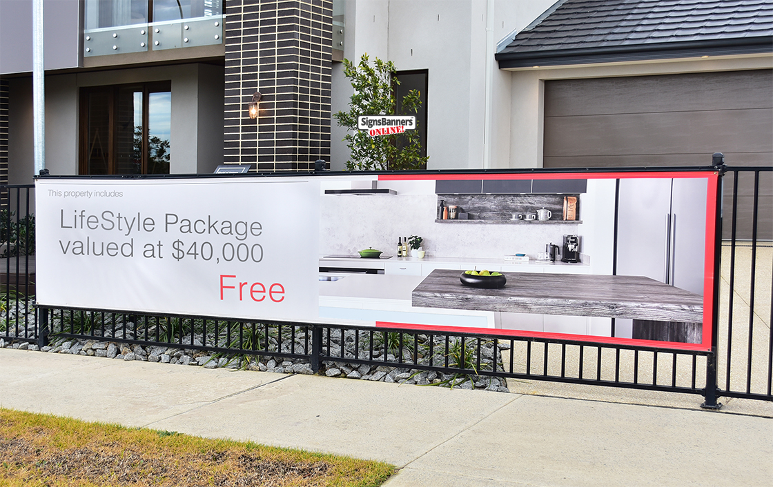 Display Home Signage