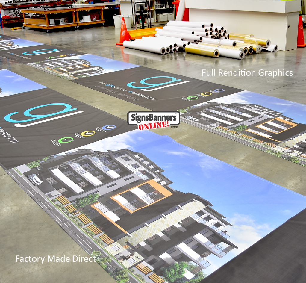 Full Rendition Graphics Providing graphic solutions for large billboard print installers and design agencies.