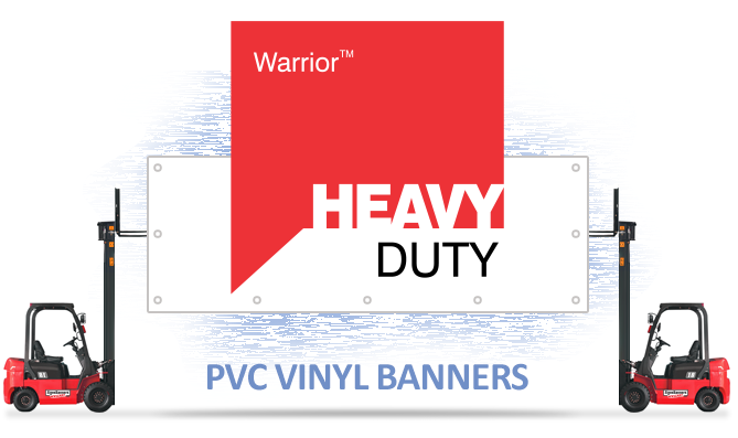 Heavy Duty Banner Signs Logo