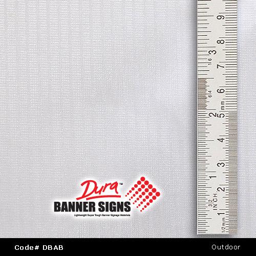 Actual Banner Material