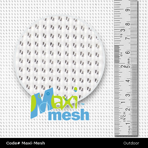 Close up Maxi-Mesh Fabric Supplies