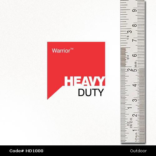 Close up Warrior HD1000 Vinyl PVC Signage Supplies