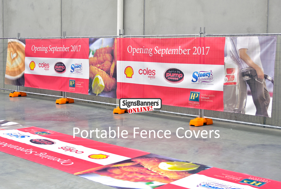 Portable Fence Covers