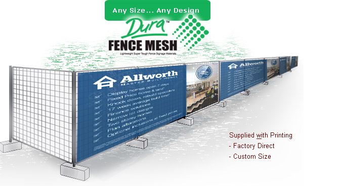 Wholesale Printed Mesh Banners Buy Direct From The