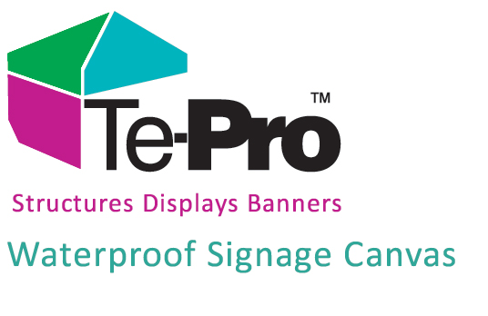 TePro is a canvas banner sign material