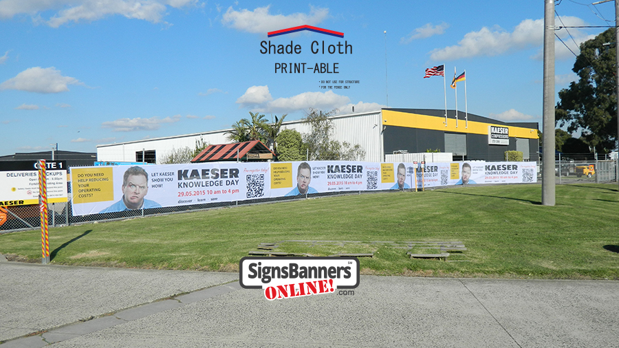Site Wrap Fence Banner Prints