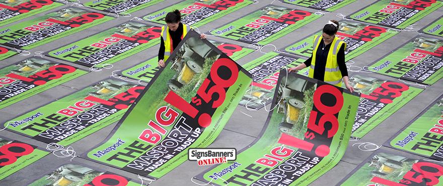 Trade Printing Banner
