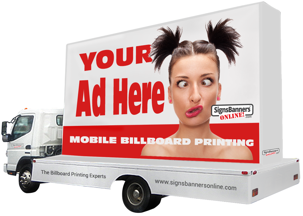 Mobile billboard printing company