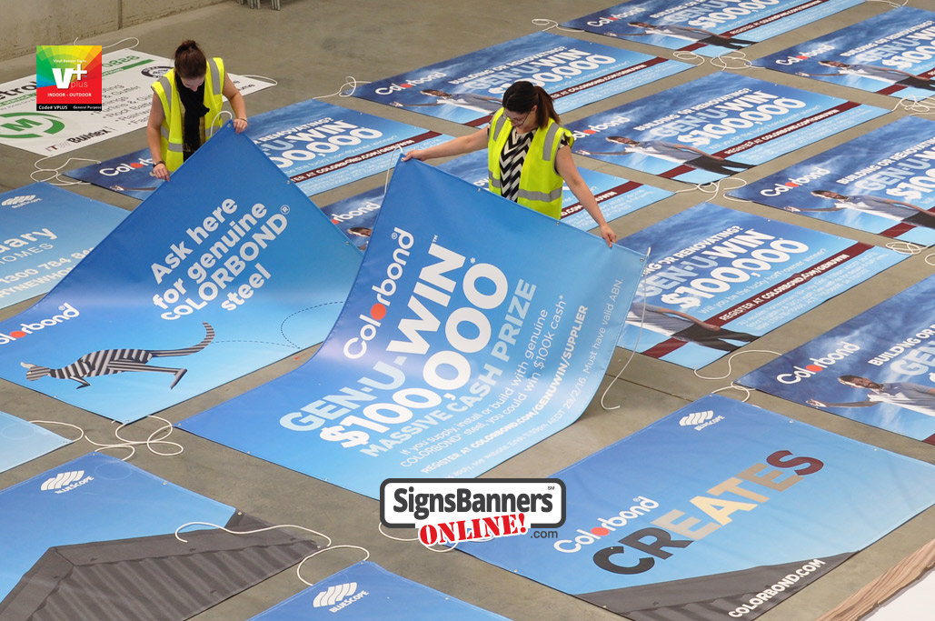 Branding with vinyl banners is a cheap and important basis for repeat customers. When used at an outlet or store, it reinforces the brand with greater retention