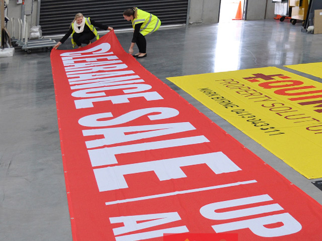 Large Banner Signs
