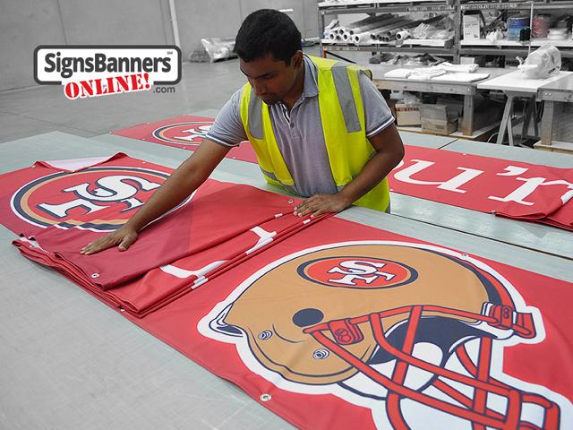 Printed custom banner