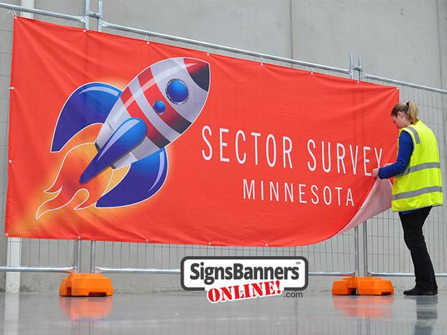 Rocket banner - Twin cities Minnesota