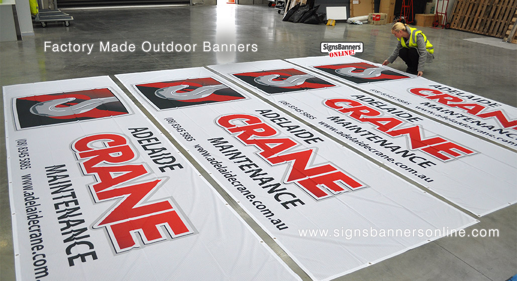 Adelaide Banner Signs
