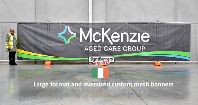 McKenzie Mesh Banners.