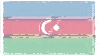 Azerbaijan Flag design