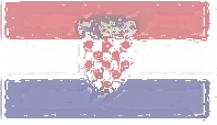 Croatia Flag design