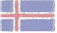 Iceland Flag design