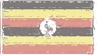 Uganda Flag design