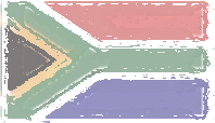 South Africa Flag design