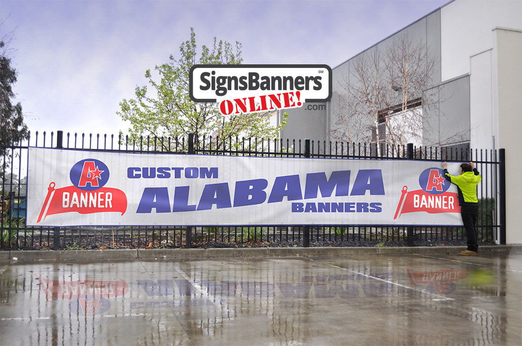 Custom Alabama Banners and Graphic Design Services by SBO