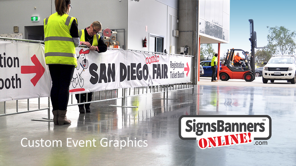 Event graphics San Diego event registration