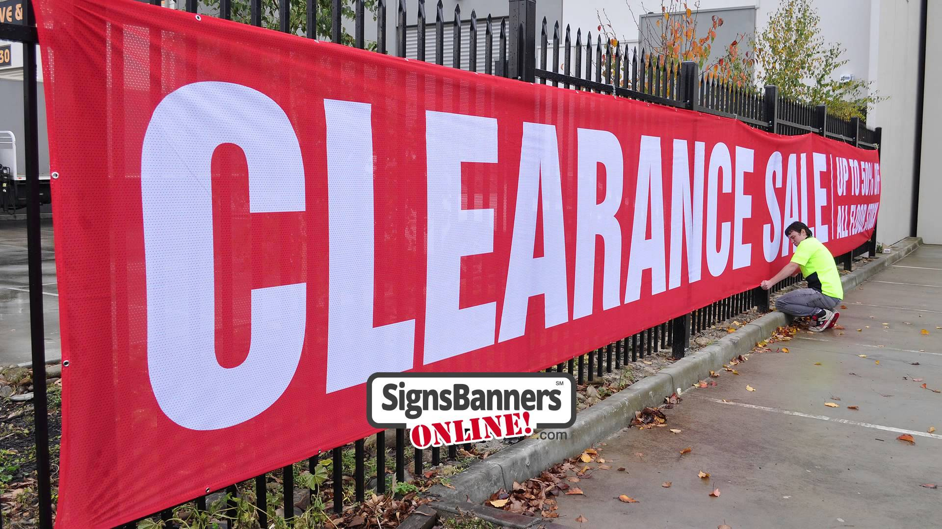 Louisiana Signs Banners Online example of work