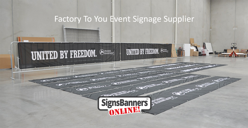 Multi sets of printed mesh banners with printing used for conference event in USA by large insurance annual event. Later used again for promotion and advertising at local presentations
