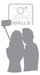 Couple with selfie stick