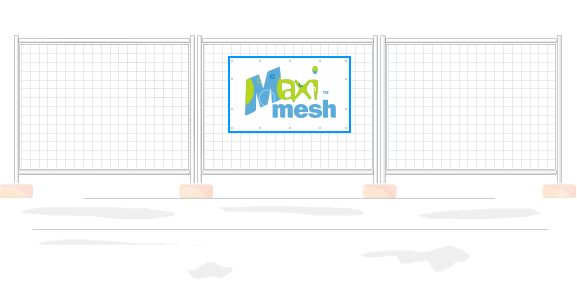 Choice box. Mesh Banner Size