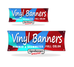 Small Vinyl Banners