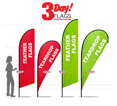 3 Day Flags