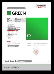 GREEN Tech Data Sheet