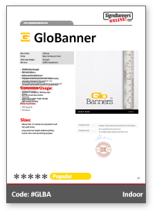 GloBanner Tech Data Sheet