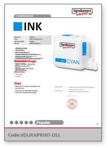 Dye Sublimation bulk INK Help Sheet