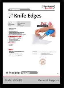 Knife Tech Data Sheet