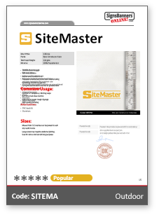 SiteMaster Tech Data Sheet