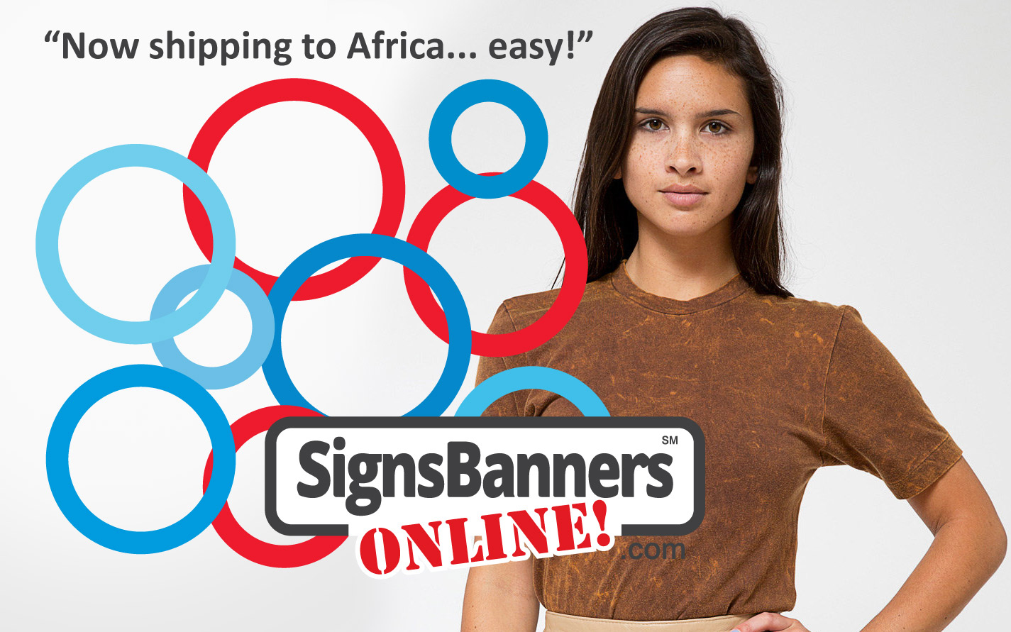 Shipping out to Africa Signs Banners Online
