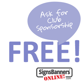 Free Club Sponsorship Program