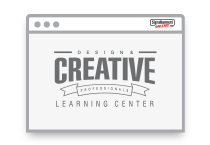 Creative learning center icon