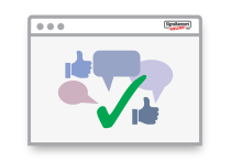 Recommended Thumbs Up Icon 'Special Features'
