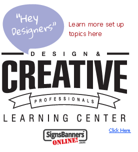 Learning Center logo for graphic design and creative professionals