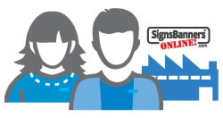 Signs Banners Online Factory Support Team Icon