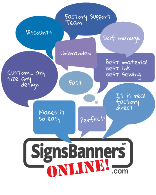 Why switch to Signs Banners Online for your factory signage printing