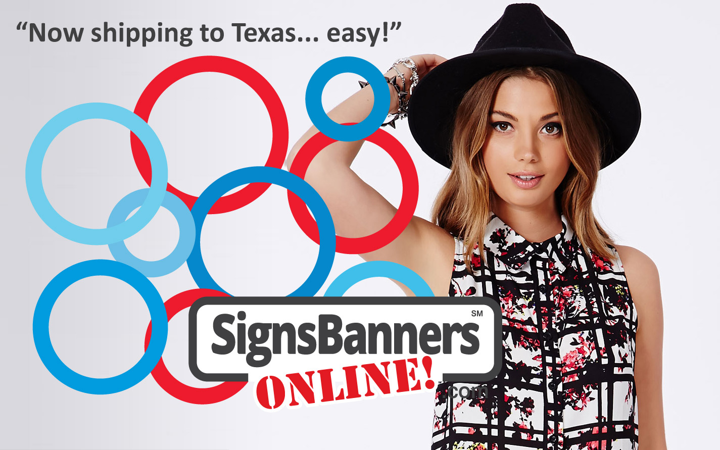 Houston Texas Signs Banners Online now ship out to all TX for printed banner signage